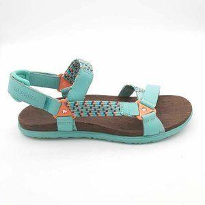 Merrell Around Town Sunvue Woven Sandals 9